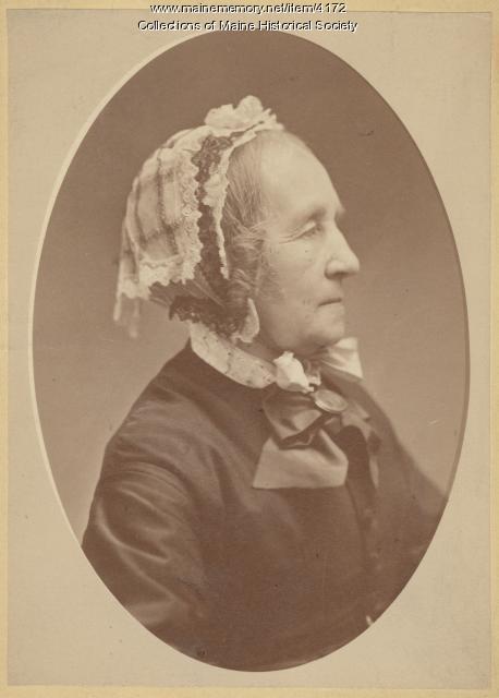 Hannah Lane, Hollis, ca. 1870