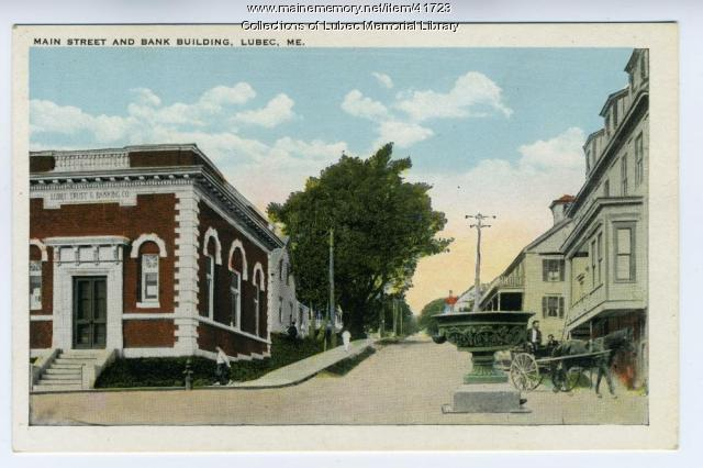 Lubec Trust and Banking Company, ca. 1910