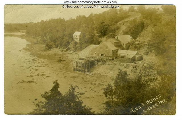 Lead Mines, Lubec, ca. 1904