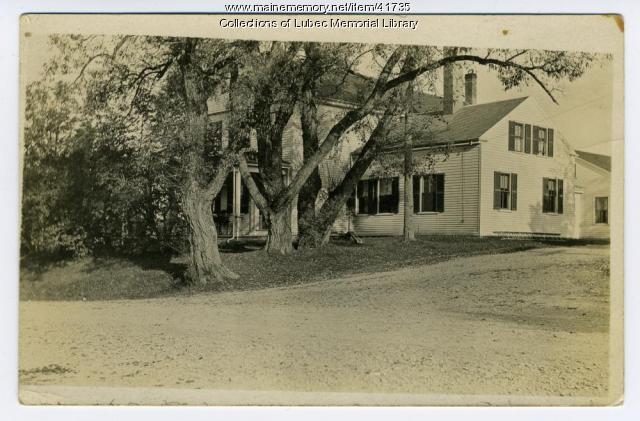 J.W. Somer's house, Lubec, 1909