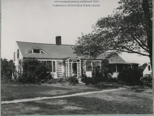 The Perkins-Deering House, Biddeford, 1953