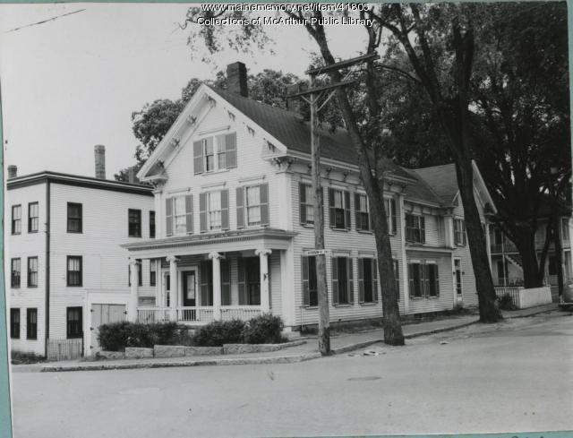The Tuck-Ferguson House, Biddeford, 1953