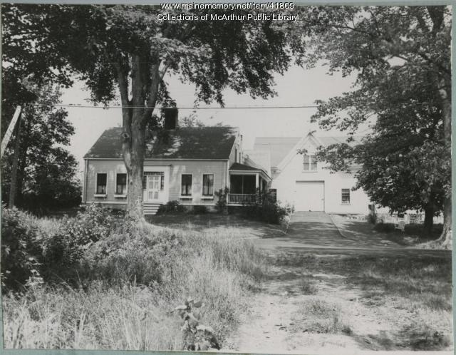Captain Waldo Hill House, Biddeford, 1953