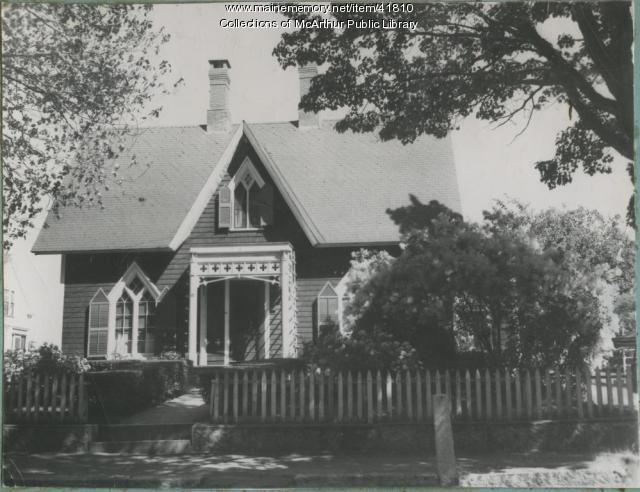 Oak Grove Cottage, Biddeford, ca. 1953