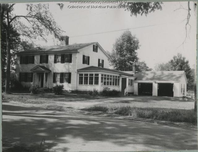 The Emery-Tarr House, Biddeford, 1953