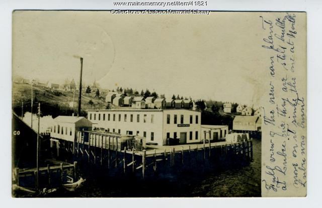 American Can Company, Lubec, 1907