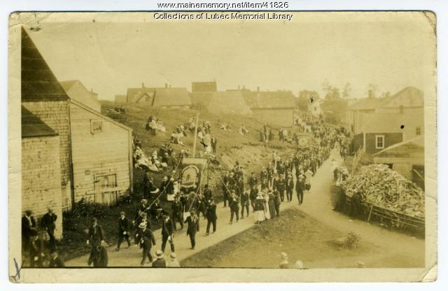 July 12 celebration, Lubec, ca. 1900