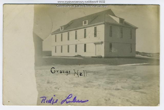Grange Hall, Lubec, 1909