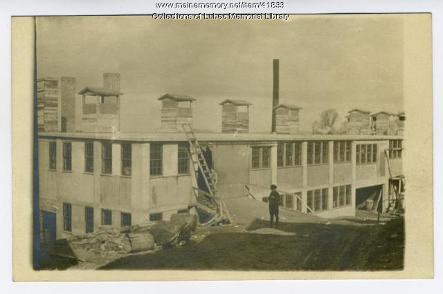 American Can Company, Lubec, ca. 1910