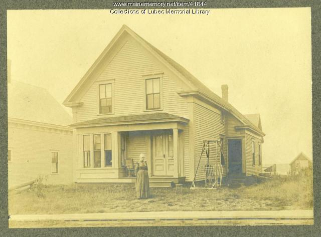 Hattie Reynolds Thayer house, Lubec, 1890