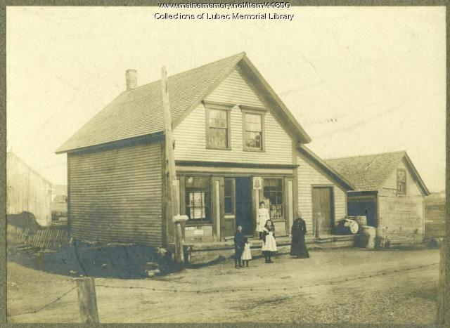 Marston Store, South Lubec, ca. 1880