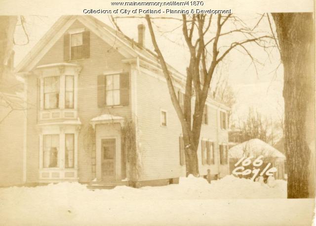 166 Coyle Street, Portland, 1924