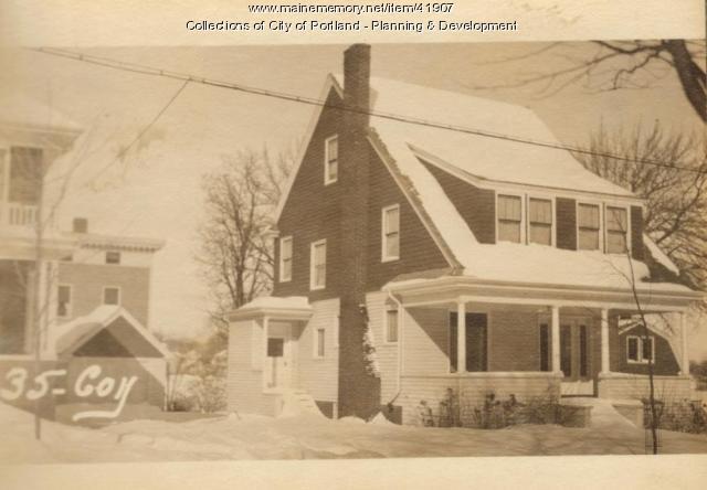35 Coyle Street, Portland, 1924