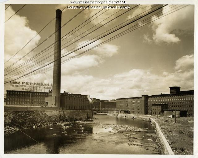 Lady Pepperell Mill, Biddeford, ca. 1920