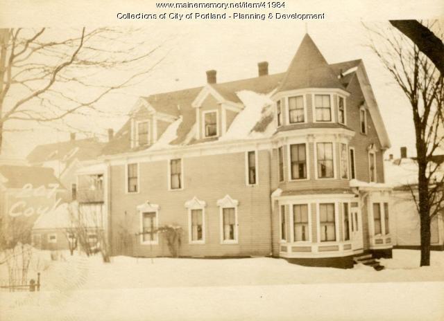 207 Coyle Street, Portland, 1924