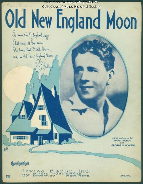'Old New England Moon,' 1930