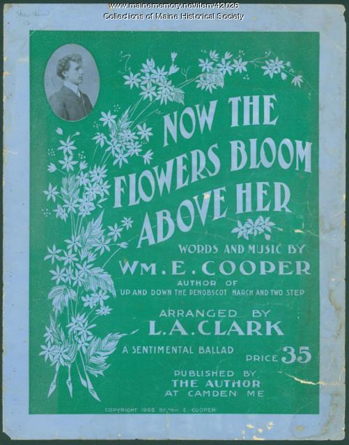'Now the Flowers Bloom Above Her,' Camden, 1905
