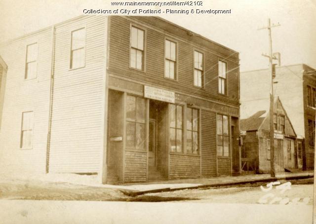 52-56 Cross Street, Portland, 1924