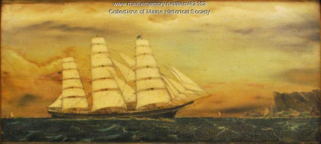"Ship ""Kennebec,"" ca. 1883"