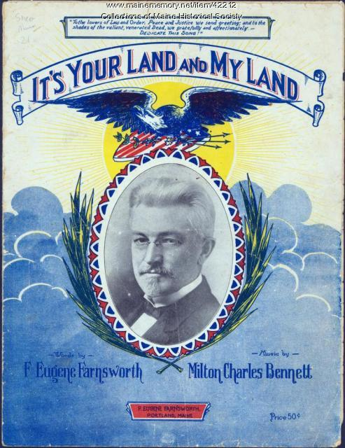 'It's Your Land and My Land,' Portland, 1923