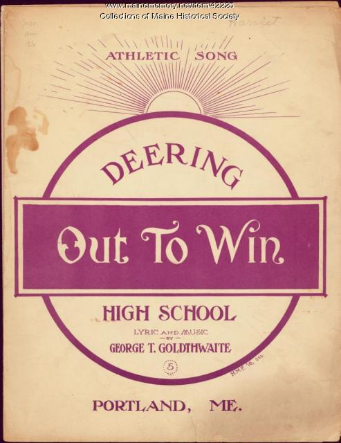 'Deering Out to Win,' Portland, 1917