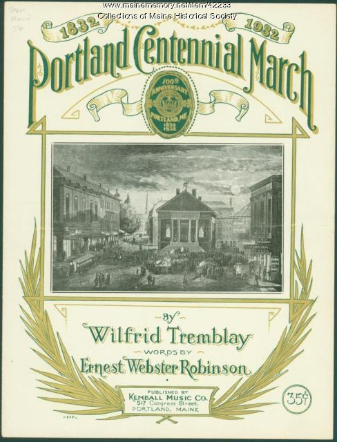 'Portland Centennial March,' 1932