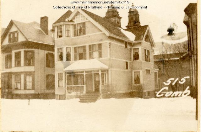 515-517 Cumberland Avenue, Portland, 1924