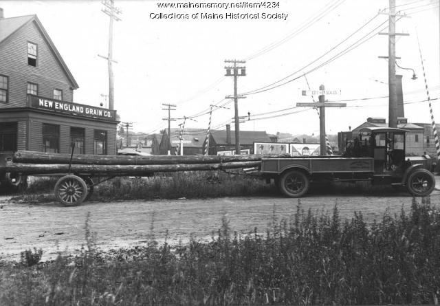 Kennebec Street, Portland, ca. 1921
