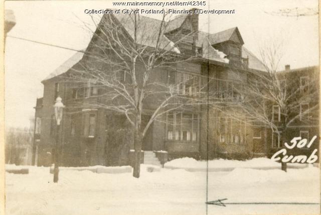 499-501 Cumberland Avenue, Portland, 1924
