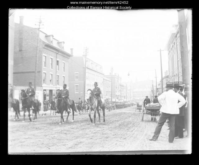 Parade Moving Up Main Street