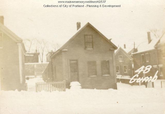 48 Cumberland Avenue, Portland, 1924