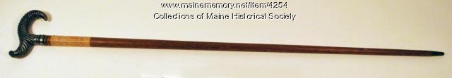 Libby Prison cane, 1893