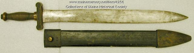William Albert Turner infantry sword
