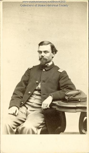 Civil War captain, ca. 1862