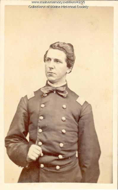 Col. Charles W. Tilden, 16th Maine Infantry, ca. 1863