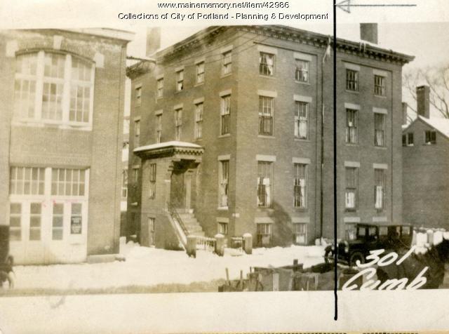 299 Cumberland Avenue, Portland, 1924