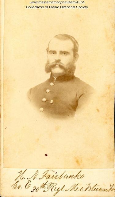 H.N. Fairbanks, 30th Maine Regiment, ca. 1864