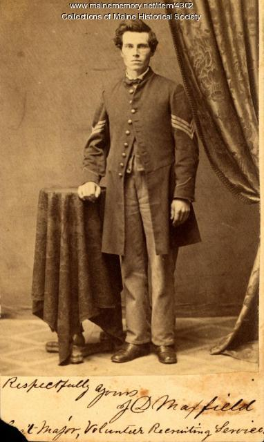 James D. Maxfield, Newport, ca. 1863