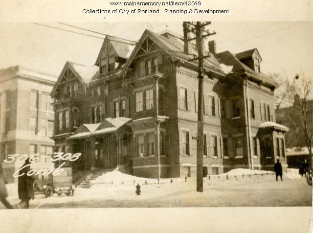 306-310 Cumberland Avenue, Portland, 1924