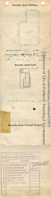347-349 Cumberland Avenue, Portland, 1924
