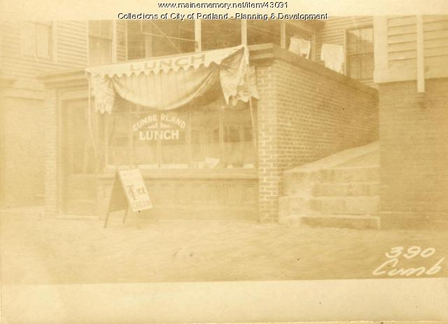 388-390 Cumberland Avenue, Portland, 1924
