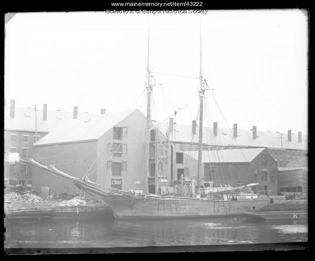 Bangor waterfront, ca. 1895