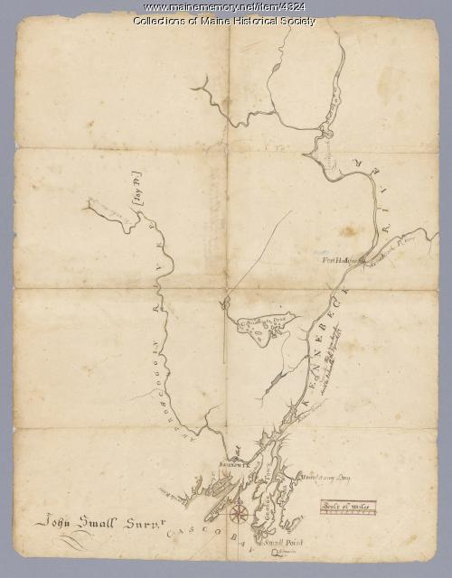 Map # 52. Androscoggin and Kennebec Rivers