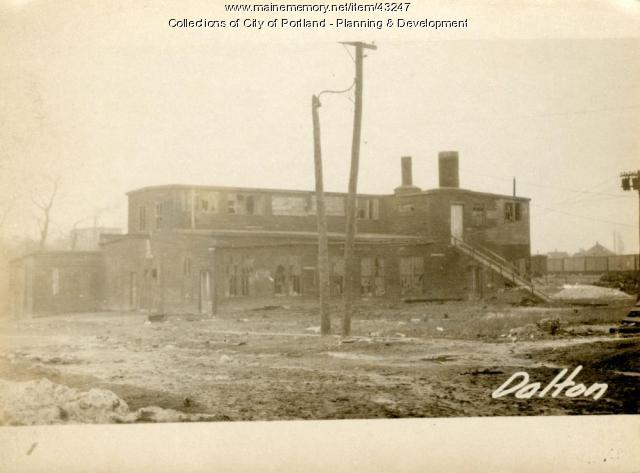Factory, Dalton Street, Portland, 1924