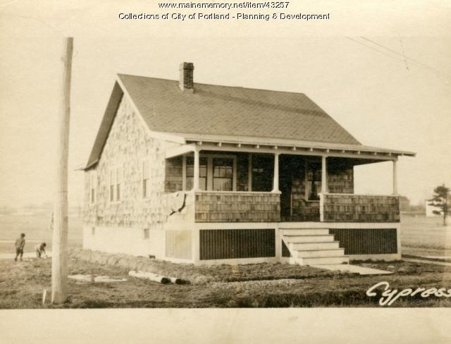 57-59 Cypress Street, Portland, 1924