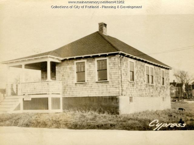 40-44 Cypress Street, Portland, 1924