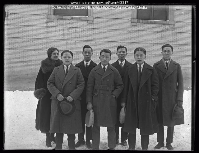 Americanization class, Portland, 1925