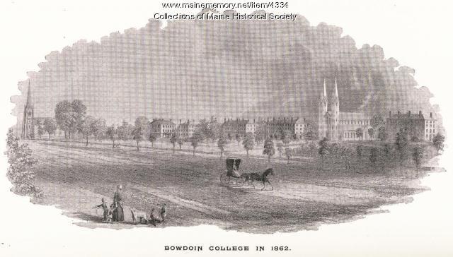 Bowdoin College in 1862