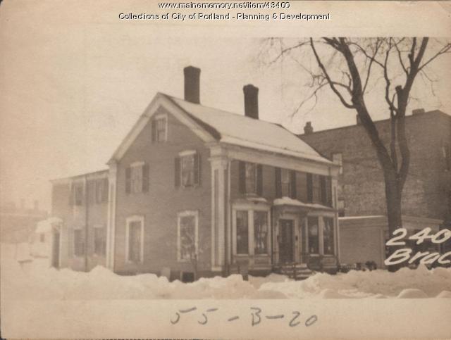 240-244 Brackett Street, Portland, 1924