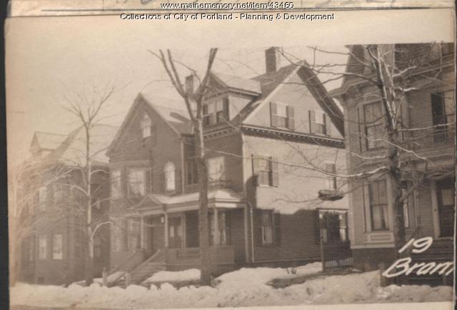 17-19 Bramhall Street, Portland, 1924